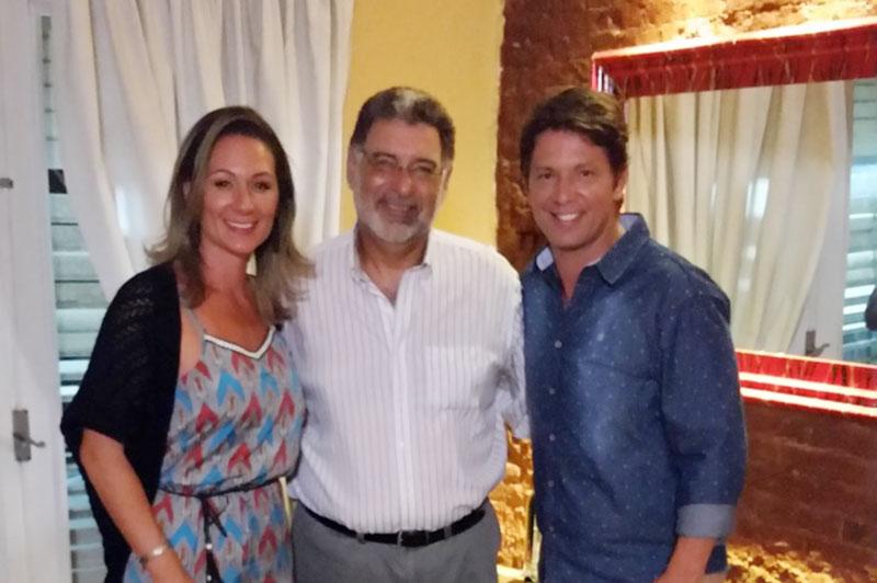 Mario Frias and Mrs.