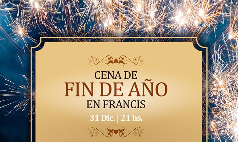 Cena de fin de a o restaurant francis - Menus para fin de ano ...